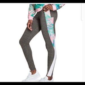 Victoria's Secret PINK Pastel Palm Leggings L